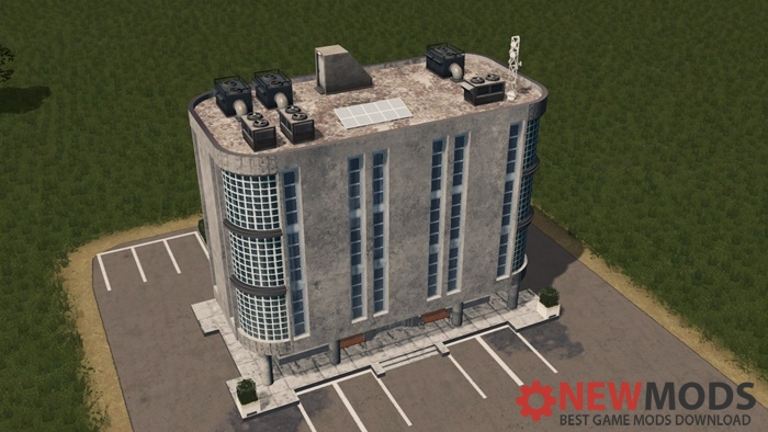Photo of Cities Skylines – Art Deco Office 4×4