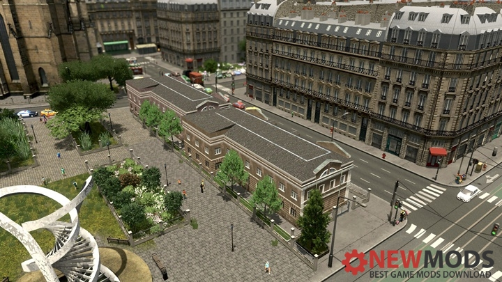 Photo of Cities Skylines – European Town House 2