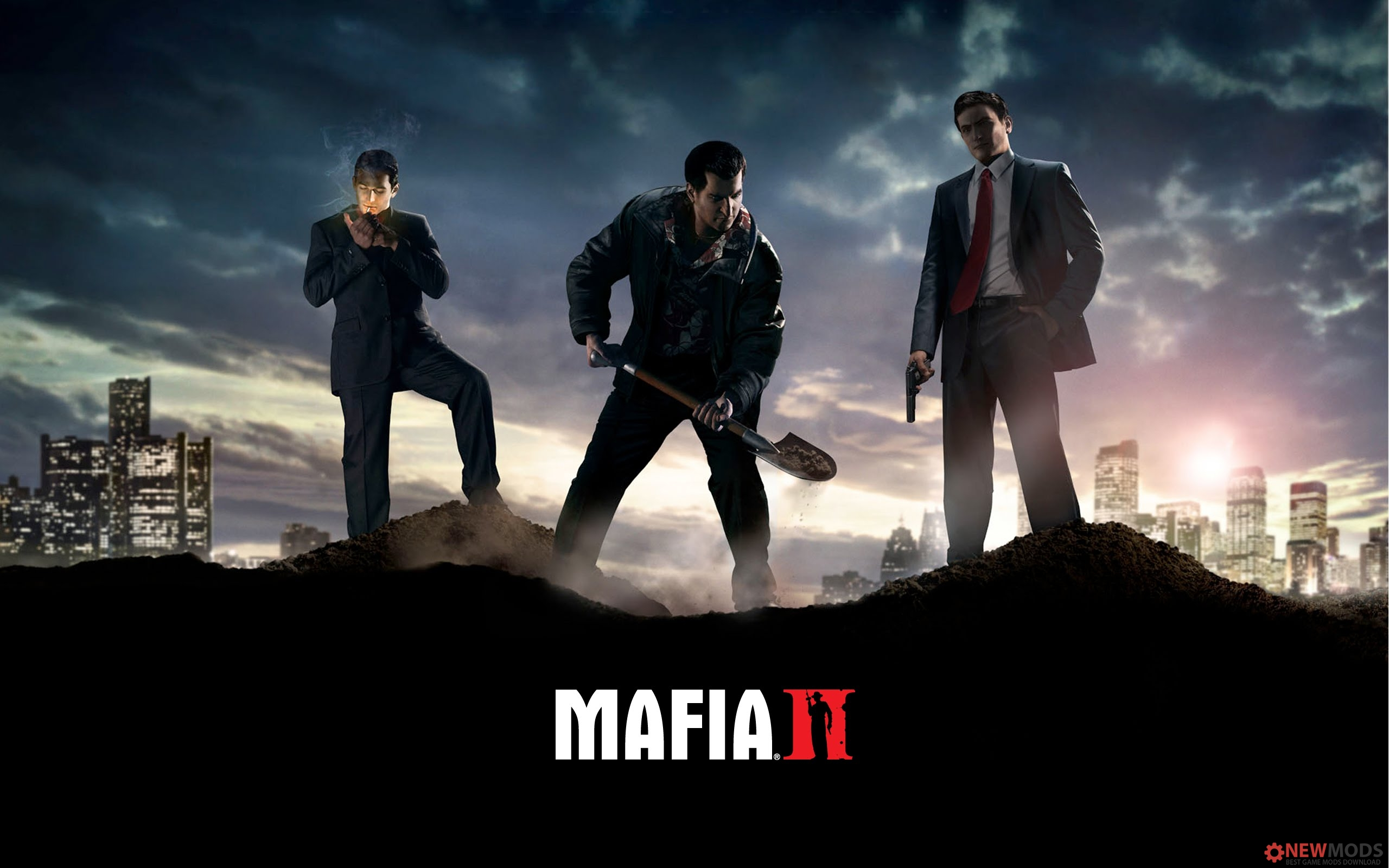Photo of Mafia II – Beta Main Menu/Web Theme for the Main Menu Mod
