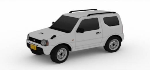 Photo of Cities Skylines – Suzuki Jimny 1998