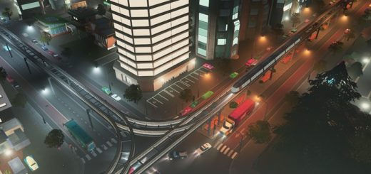 2-lane-monorail-road-with-tram-track-007