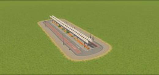 Photo of Cities Skylines – 4 Lane Monorail Road. With Bus Lane.