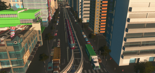 6-lane-monorail-road-one-way