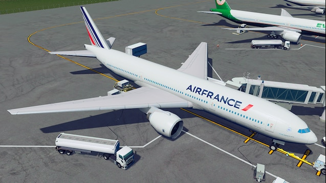 Photo of Cities Skylines – Boeing 777-200ER – Air France