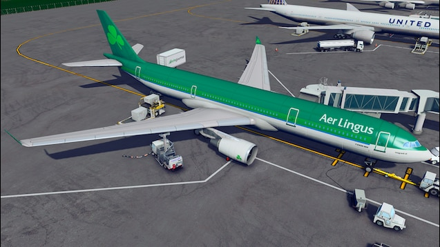 Photo of Cities Skylines – Airbus A330-300 – Aer Lingus
