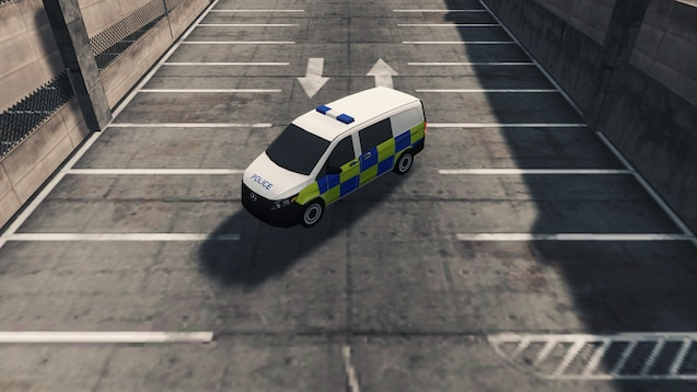 Photo of Cities Skylines – Mercedes-Benz Vito UK Police