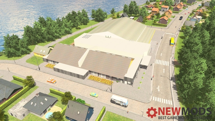 Photo of Cities Skylines – Rural Leisure Center V2
