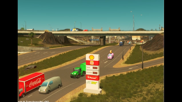 Photo of Cities Skylines – Shell Service Centre Sign