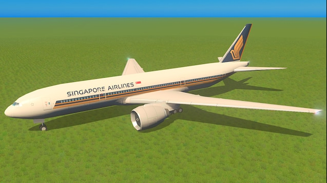 Photo of Cities Skylines – Boeing 777-200ER – Singapore Airlines