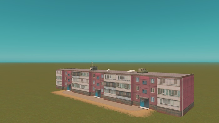 Photo of Cities Skylines – Volzskiy | 3 Story Apartment Building