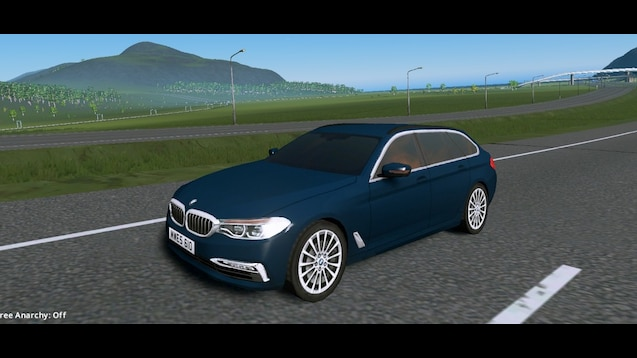Photo of Cities: Skylines – BMW 5-Series Touring (G31) 2017