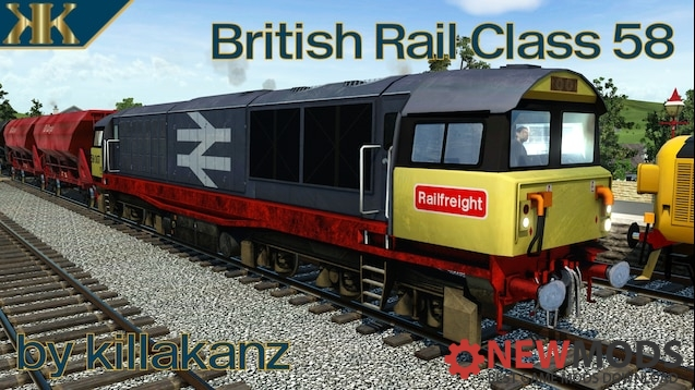 Photo of Transport Fever – British Rail Class 58