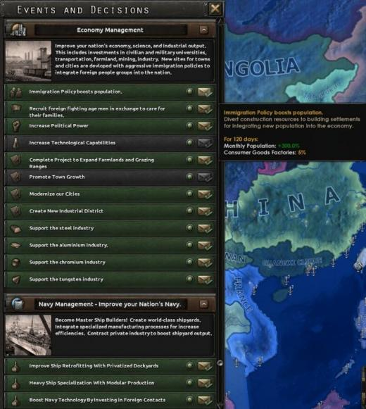 Photo of Hearts of Iron IV – Economy and Military Decisions