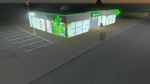 "Photo of Cities: Skylines – French Pharmacy ""Pharmacie des vignes"""
