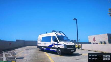 Photo of Gta 5 – 2016 Volkswagen Crafter – Chinese Police Livery 1.0