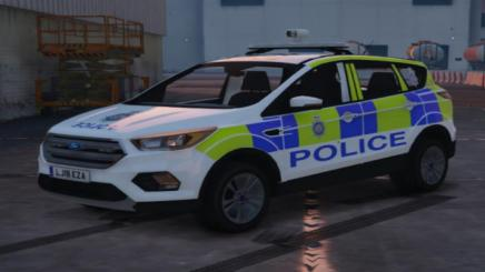 Photo of Gta 5 – British Transport Police Ford Kuga (Skin) 1.0