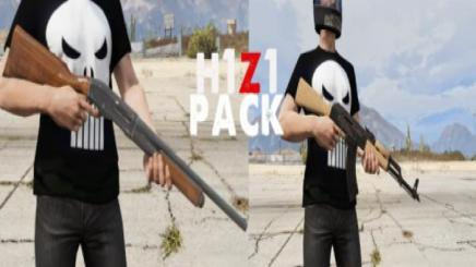 Photo of Gta 5 – H1Z1(Just Survive) Weapons Pack 1.0