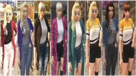 Photo of Gta 5 – Korean Clothes For Momiji + New Hair 0.1