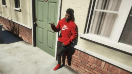 Photo of Gta 5 – Nike Paint Splatter Hoodie 2 Pack –