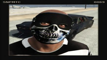 Photo of Gta 5 – Skull Mask Chromed(Carbon) 1.0