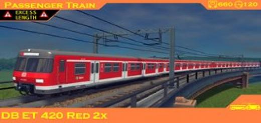 Photo of Cities Skylines – Train: DB ET 420 Red 2x