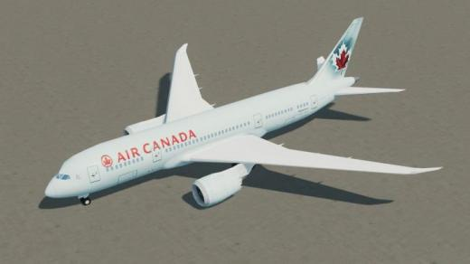 Photo of Cities: Skylines – Boeing 787-8 Air Canada