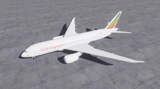 Photo of Cities: Skylines – Boeing 787-8 Ethiopian