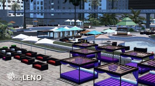 Photo of Cities: Skylines – Cabana Furniture – White/Color Variations