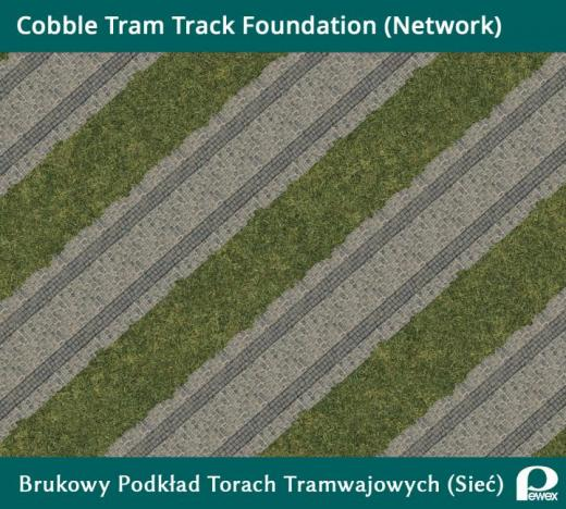 Photo of Cities: Skylines – Cobblestone Tram Track Foundation Network