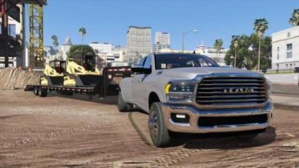 Photo of Gta 5 – 2019 Dodge Ram 3500 Hd Add-On 1.0