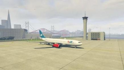 Photo of Gta 5 – Airbus A330-200 Flyus Livery