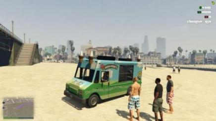 Photo of Gta 5 – Ben & Jerrys Ice Cream Truck 1.0