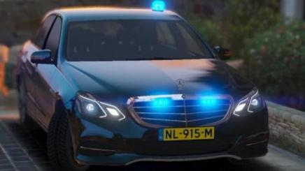 Photo of Gta 5 – Mercedes Benz E-Class Dutch Unmarked Police 1.0