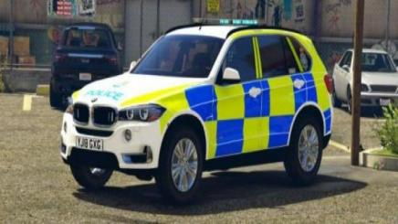 Photo of Gta 5 – North Yorkshire Police – Rpu/arv Livery For The Bmw X5 1.0