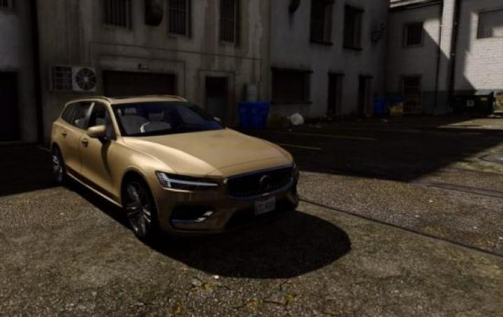 Gta 5 - Volvo V60 2018 Add-On / Replace 1 0 - Newmods Net PC Game