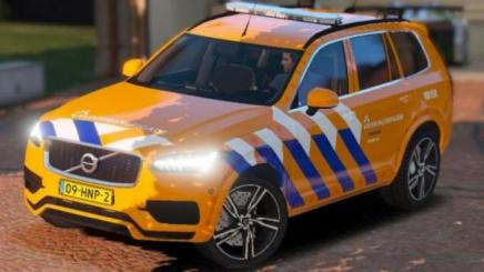 Photo of Gta 5 – Volvo Xc90 Dutch Lifeguard 4K 1.0