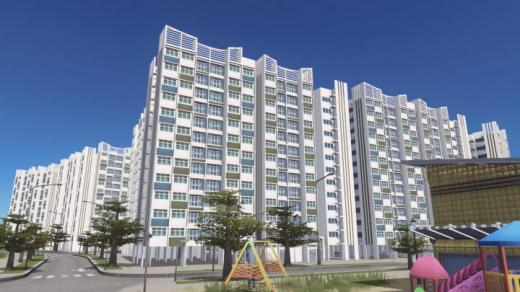 Photo of Cities: Skylines – HDB Apartment Blk 763506 (side)