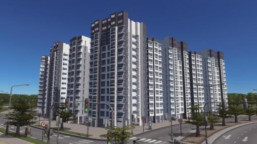 Photo of Cities: Skylines – HDB Apt Blk 763505 (Front)