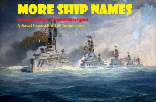 Photo of Hearts of Iron IV – More Ship Names