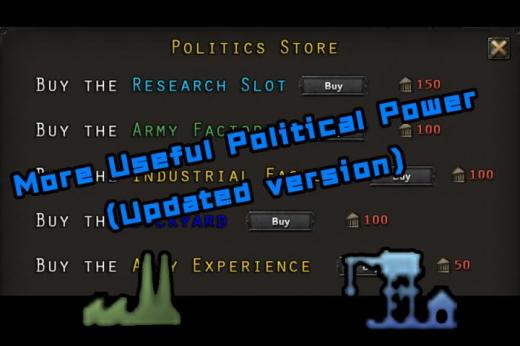 Photo of Hearts of Iron IV – More Useful Political Power