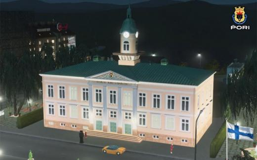 Photo of Cities: Skylines – Pori Old Town Hall