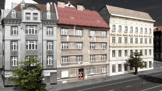Photo of Cities: Skylines – Prague Row House, Strasnice 2