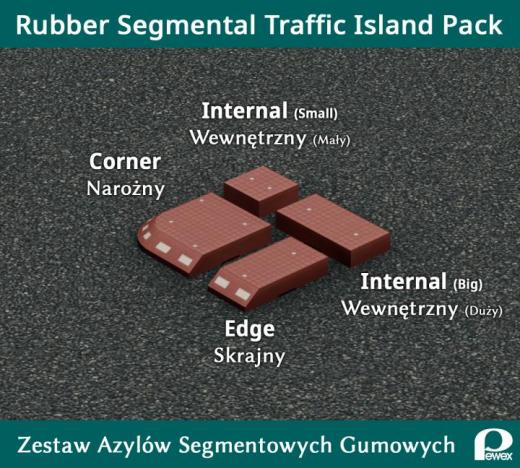 Photo of Cities: Skylines – Rubber Traffic Island Pack