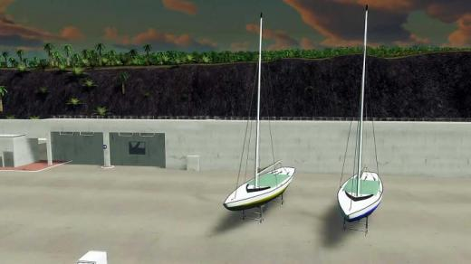 Photo of Cities: Skylines – Sailboat on Stands 02