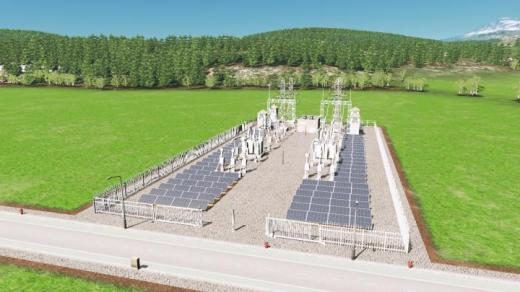 Photo of Cities: Skylines – Solar-Sub-Station