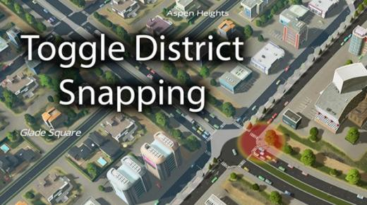 Photo of Cities: Skylines – Toggle District Snapping v2 : Reboot