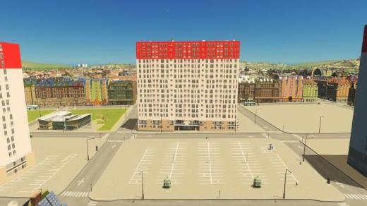 Photo of Cities: Skylines – Tour Fontainebleau (Neuilly-Sur-Marne, France) RICO