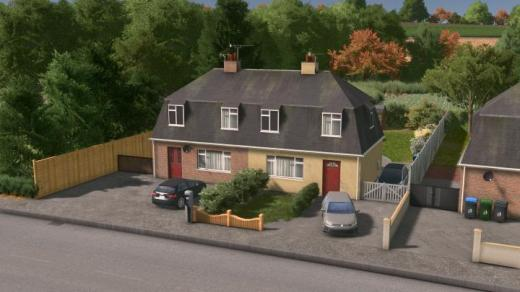 Photo of Cities: Skylines – UK Semi-Detached – House #1 – Level 1