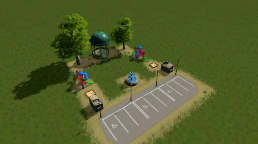 Photo of Cities: Skylines – 3×4 Park (Scaled to game balance)