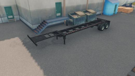 Photo of Cities: Skylines – 40′ Gooseneck Container Chassis Prop